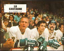Slap Shot photo Paul Newman/Reggie Dunlop original color lobby card still Hockey