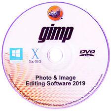 GIMP 2019 Photo Editor Premium Professional Image Editing Software for Win,Mac