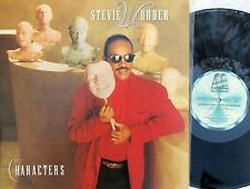 Stevie Wonder ORIG OZ Promo LP Characters NM '87 Motown Soul Michael Jackson