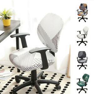Elastic Stretch Office Chair Seat Covers Slipcovers Case Computer Removable Home