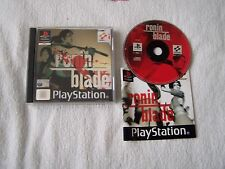 SONY PS1 PLAYSTATION 1 GAME RONIN BLADE