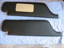 1966-69  impala  ht sun visors with vanity mirror black tier