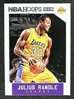 JULIUS RANDLE - 2015 Panini NBA Hoops Los Angeles Lakers #22