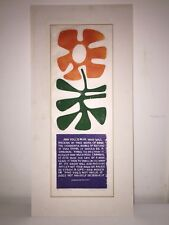 Sabra (Field) Johnson: For Leonardo - Early Woodblock Print - Listed Artist
