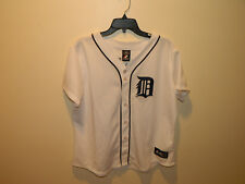 MAJESTIC PRINCE FIELDER #28 DETROIT TIGERS WHITE MLB JERSEY WOMENS 2X