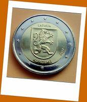2 Euro Gedenkmünze Lettland  2017 - Regionen Serie Kurzeme - Lieferbar