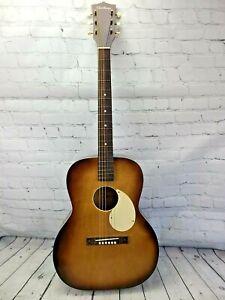 Vintage Kay Airline Acoustic Concert Guitar L-2281 Pearloid Binding