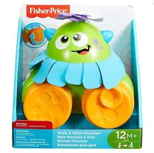 Fisher- 900 FHG01 Walk and Whirl Monster Toy