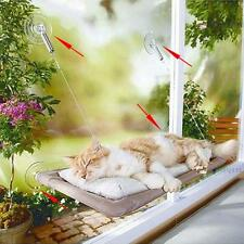 Cat Kitty Basking Window Bed Hanging Shelf Seat Mounted Hammock Perch Cushion A³