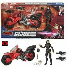 G.I. Joe Classified Baroness & COIL. Bike Cobra Island TARGET Exclusive IN HAND!