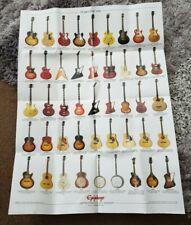 Epiphone guitars poster