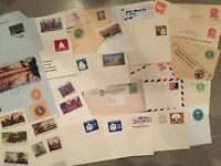 U.S. UNITED STATES VINTAGE POSTAL STATIONARY COLLECTION 150+ DIFFERENT 1800S-NOW