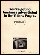 1966 Yellow Pages Telephone Book