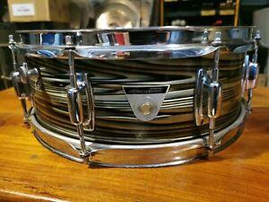 "Ludwig '69 Standard Series Snare Drum - Avacado Strata 14x5"""