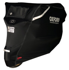 Oxford Protex Premium Stretch OUTDOOR Motorcycle Motorbike Cover CV162  X-LARGE