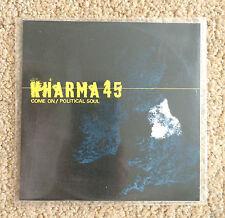 KHARMA 45 Come On Political Soul 2007 PROMO CD SINGLE House Electronic Dance