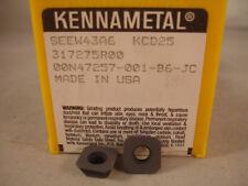 SEEW 43A6 KCD25 KENNAMETAL Carbide  Inserts (1pcs) 227