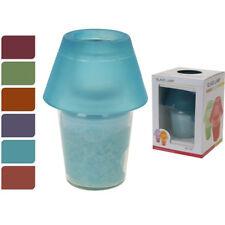 Lámpara de cristal con vela Rosa / Koopman