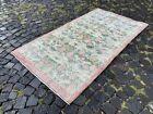 Vintage rug, Turkish, Handmade rug, Area rug, Wool rug, Bohemian   3,4 x 6,3 ft