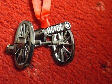 ACDC RARE  FTATR METAL CANNON ORNAMENT ANGUS YOUNG MALCOLM YOUNG BRIAN JOHNSON