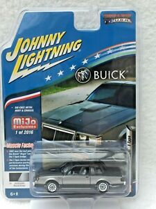 JOHNNY LIGHTNING- 1987 BUICK REGAL T-TYPE - MUSCLE CARS USA -NEW SPECIAL EDITION