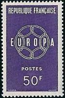 "FRANCE STAMP TIMBRE YVERT N° 1219 "" EUROPA 50F "" NEUF xx TTB"