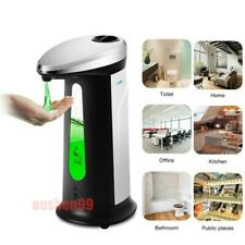 Infrared Sensor Automatic Soap Dispenser Touchless Stand Foam Hand Washer 400ml