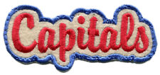 "1969-70 Washington Caps Aba Basketball Hardwood Classics 4"" Script Patch"