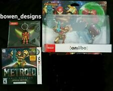 SAMUS ARAN Returns Special Edition+Music CD&METROID Amiibo 2 Pack NINTENDO 3DSXL