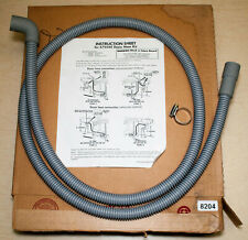 New listing Whirlpool 675544 Dishwasher Drain Hose Kit