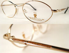 Stylish Rare & Vintage  Neostyle Ultraleicht Damenbrille - Titan/Gold/Braun*