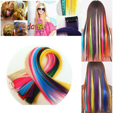 High Quality Hair Pieces Hair Toupee Highlight False Hairs Extension Clip On In