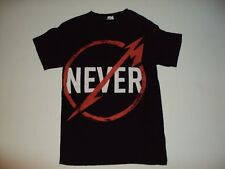 Metallica No Never 2013 Small Concert T-Shirt  Preowned Check Out Pictures