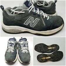 New Balance 608v3 Gray Suede Athletic Walking Tennis Shoes Sneaker Men's Size 11