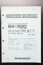 PIONEER sx-300 Original Service-Manual/Servizio-Istruzioni/Schema Elettrico!