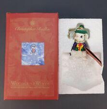 Christopher Radko Woodland Winds Hale Snowflake Part # 00-829-0