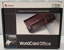 PenPower - World Card Office  - Business Card Scanner - B&W