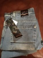 NWT SOUTHPOLE MEN'S JEAN RELAXED FIT 4180-1041 LIGHT SAND BLUE 32-32 $50 JEANS
