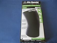 McDavid Closed Patella Knee Support Extra Large XL A401B Thermal Neoprene Brace