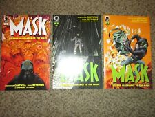 LOT 3 THE MASK 2 3 4 I PLEDGE ALLEGIANCE TO THE MASK - COMBINED SHIPPING - NM+