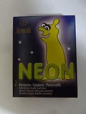 AMOR Kondom NEON 2er-Packung leuchtend