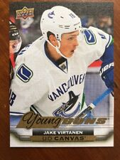 2015-16 UD Hockey Series 2 Young Guns Canvas #C215 Jake Virtanen