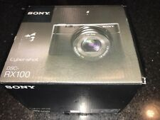 Sony Cybershot RX100 20MP 3 Inch LCD 3.6x Zoom Compact Digital Camera - Black