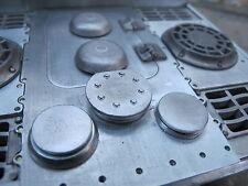 Königstiger Jagdtiger Lüfter Deckel Metall Bausatz Kit Zubehör RC Panzer 1/16