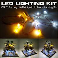 ONLY LED Light  Kit For Lego 10266 Apollo 11 Moon Landing Bin  ⇝ g