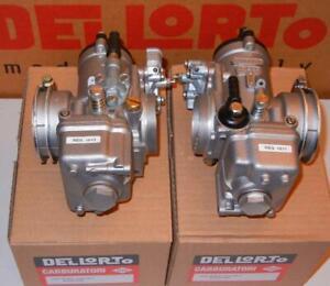 Dellorto PHM BS1/BD1 38mm PAIR carburetors BMW 90S 90/6 R 90 S PHM38 #4813/4814