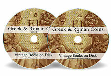 Rare Books Ancient Greek Greece Roman Coins DVD Silver Gold Medieval Album 263