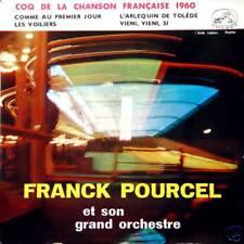 FRANCK POURCEL Coq De La Chanson Française 1960 EP