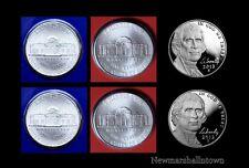 2012 2013 P+D+S Jefferson Nickel Mint Proof Set ~ P+D in Original Mint Wrap