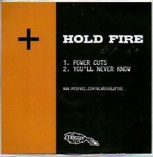 (632B) Hold Fire, Power Cuts - DJ CD